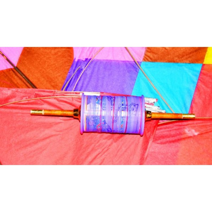 Fighter Kites Kit ( 20 Kites + 1 Manjha Spool )